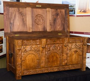 Dower chest for Alicia Jane Whitesides.