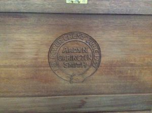 Ardyn Smith dower chest provenance.