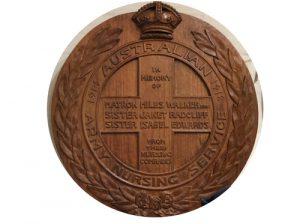 Nursing Sisters plaque, Lindisfarne.