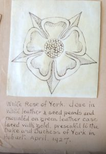 White rose of York.