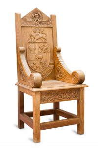 Girl Guides chair, Foxlease, England.