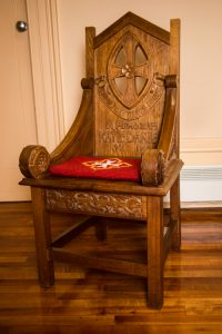 Katie Daniel memorial chair, Collegiate School, Hobart