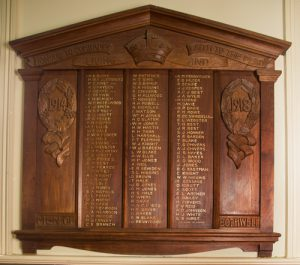 Bothwell roll of honour