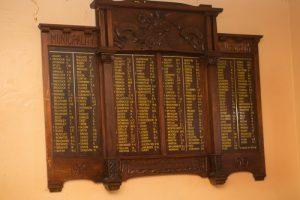 Westbury honour roll