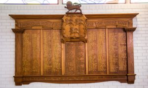 Hutchins honour roll