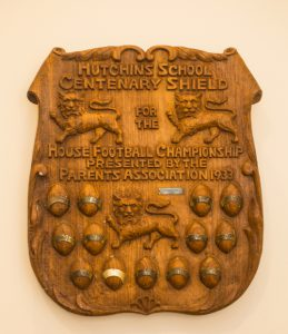 Hutchins School centenary shield