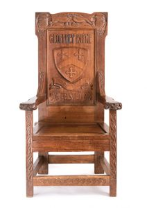 Chair, Felsted School, Essex, England.