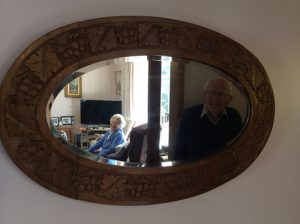 Payne family mirror.