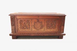 Dower chest for Elizabeth Payne.
