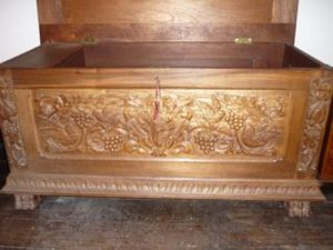 Dower chest for Rosemary Payne.