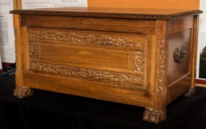 Dower chest for Viti Allardyce.